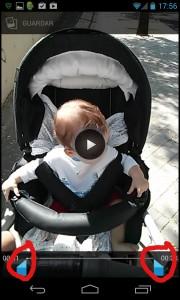 Pantallazo Recortar Video II