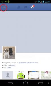 Ajustes Facebook