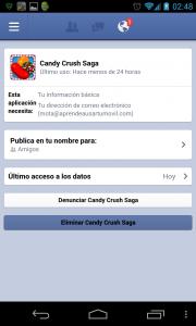 Ajustes Facebook Permisos Aplicaciones