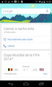 Pantallazo Búsqueda de Google