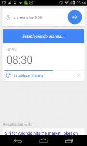 Pantallazo Ok Google anadir alarma ejemplo 2